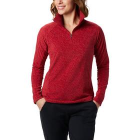 Columbia Glacial IV Print 1/2 Zip Pullover Women, beet sparkler print
